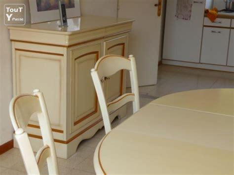 salle a manger provencale salle 224 manger proven 231 ale en bois massif bouillargues 30230