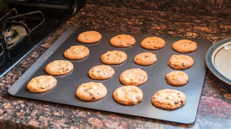 baking cookie sheets cookies sheet cooking airbake reviewed production