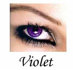 Violet & Purple Contacts – For Dark, Brown Eyes, Non ...