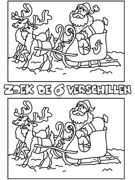 Www Kleurplaten Nl Zoeken by Kleurplaat Zoek De 6 Verschillen Kerst Kleurplaten Nl