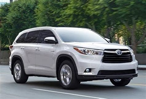 toyota suv  row   car reviews