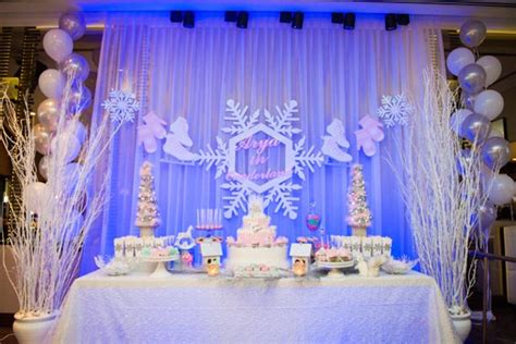 karas party ideas pastel winter onederland themed