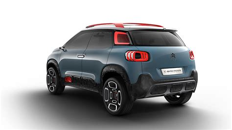 Citroen Reveals Its New Vision For Compact Suvs With C