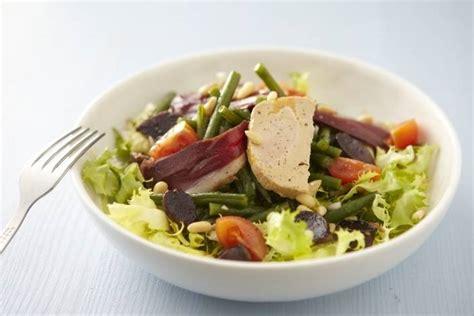 cours de cuisine grand chef recette de salade landaise facile et rapide