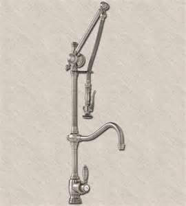 waterstone annapolis gantry faucet hook spout 4400