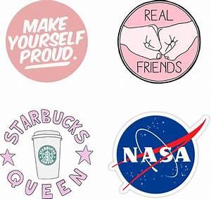 """Tumblr Sticker Pack - Circle"" Stickers by Kirsikankukka"
