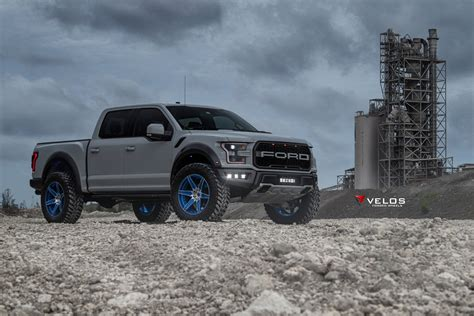 gen  avalanche grey ford raptor  velos   pc forged