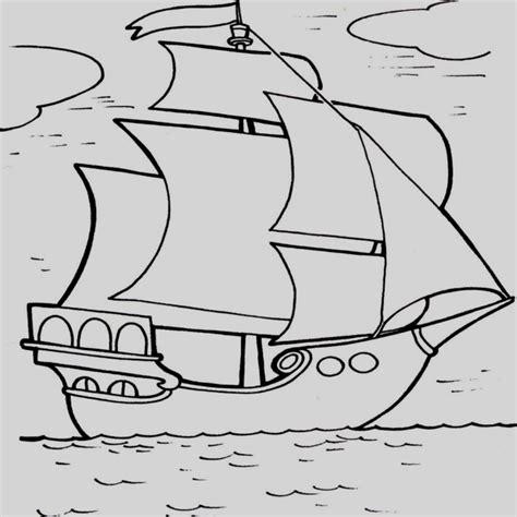 Barcos Para Dibujar Y Colorear by Barco Para Colorear Nico Dibujos De Barcos En El Mar