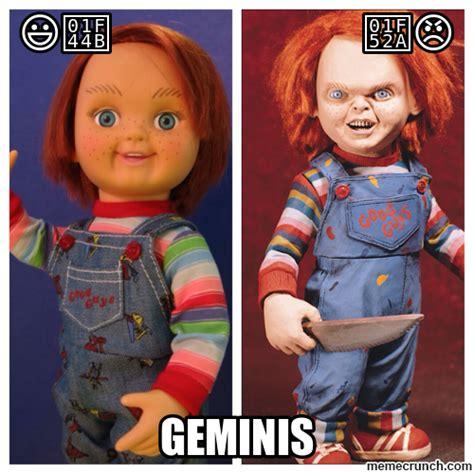 Gemini Meme - gemini chucky