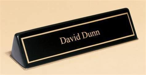 desk name plates army desk name plates