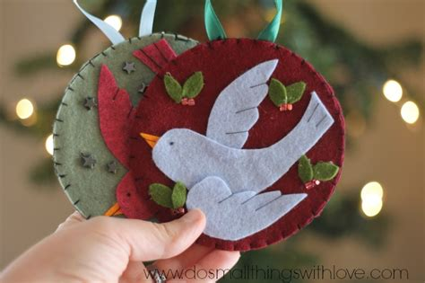 Bird In Flight Felt Ornament  Do Small Things With Great Love