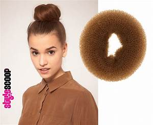 How To Wrap Hair Around Donut hairstylegalleries