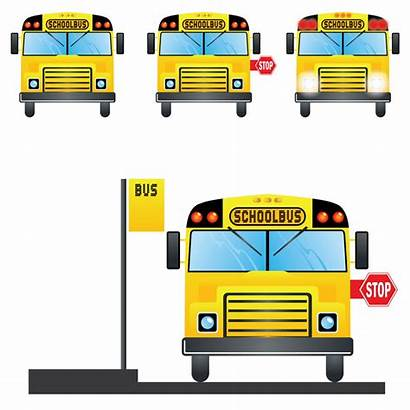 Bus Clipart Stop Vector Sign Clip Station