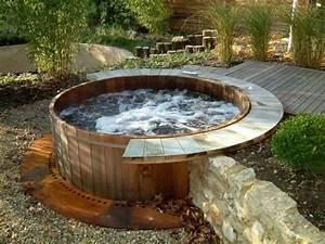 garten whirlpool selber bauen nowaday garden With whirlpool garten mit balkon sichtschutz seitlich selber bauen
