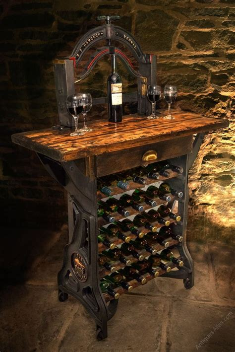 kitchen table with wine storage 25 best ideas about wine rack table on wine 8647