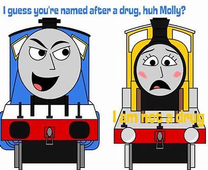 Engine Train Cartoon Ttte Deviantart Percyfan94 Thomas