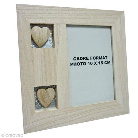 cadre en bois avec coeurs 20 x 20 cm cadre photo 224