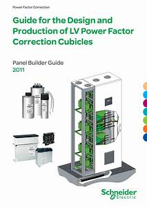 Panel Builder Design Guide For Lv Power Factor Correction Cubicles