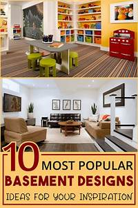 10, Stunning, Basement, Design, Ideas, For, Your, Inspiration, In