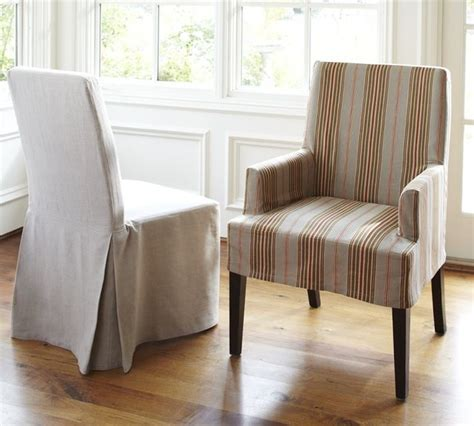 pottery barn chair slipcovers napa chair slipcovers modern dining chairs by