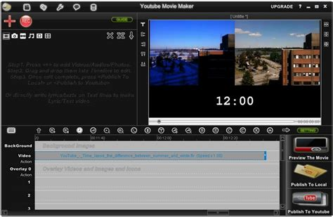 Youtube Movie Maker 18.25 - Download for PC Free