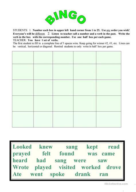 workbooks 187 past simple worksheets esl free printable