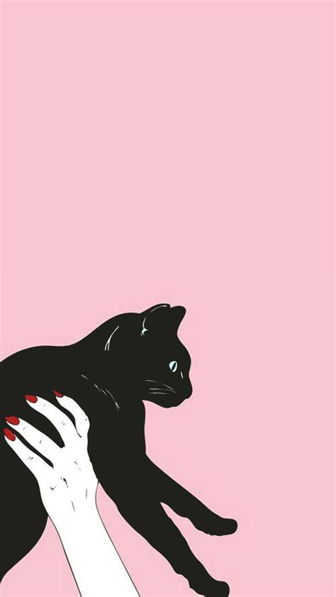 Aesthetic Cat Wallpaper Iphone by Pin By On Phone Wallpapers Moon Spells