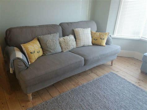 Divano Ikea Stocksund : Ikea 3 Seater Stocksund Sofa Grey Beige. Bought 2017 Never