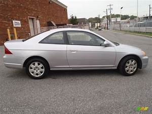 Honda Civic 2002 : satin silver metallic 2002 honda civic ex coupe exterior photo 54558750 ~ Dallasstarsshop.com Idées de Décoration