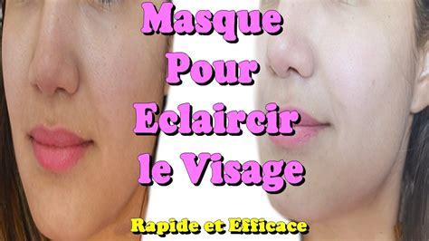 masque visage maison oeuf masque pour 233 claircir le visage rapide et efficace