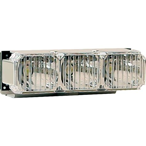 led light bar replacement parts buyers 3024631 3 led reflector middle light bar