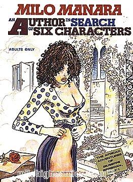 author  search   characters  milo manara