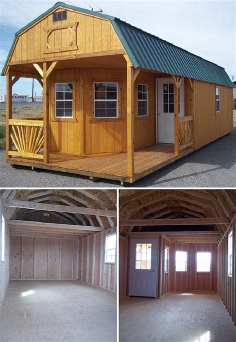 turning a shed into a tiny house playhouse turned into a cozy tiny home total survival