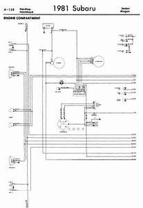 Subaru 1981 Models Wiring Diagrams
