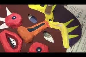 afrikanische masken basteln afrikanische masken basteln mit kindern anleitung