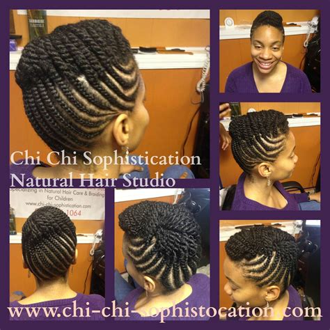 cornrow up do for adults no hair added the perfect any