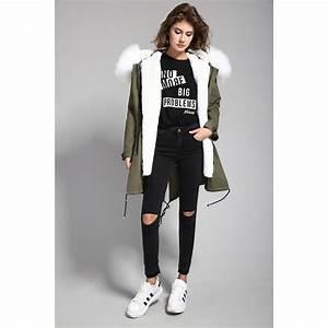 Veste D Hiver Femme 2017 : manteau d 39 hiver pour femme avec fourrure mode robe et ~ Dallasstarsshop.com Idées de Décoration