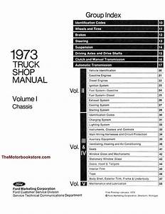 1973 Ford Truck Factory Shop Manual