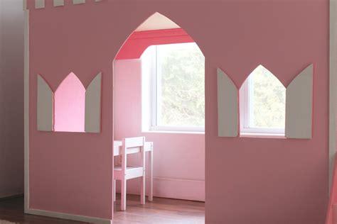 remodelaholic   build  princess castle loft bed