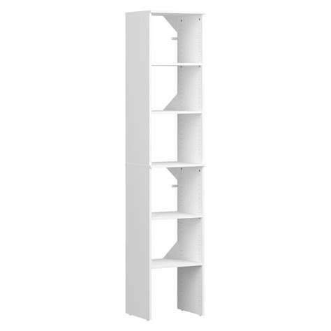 Closetmaid Wood Shelving by Closetmaid Style 15 In D X 17 In W X 82 In H White