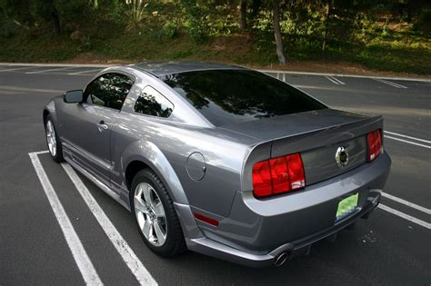 cdc ducktail spoiler  mustang source ford mustang