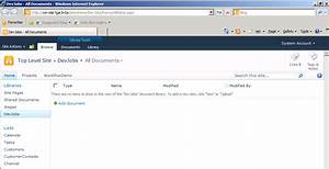 mr wikes sharepoint 2010 blog With document library browser