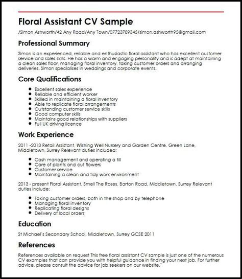 How To Make Cv For Sle by Cv Exles For Retail Uk Beautiful Photos Free Cv