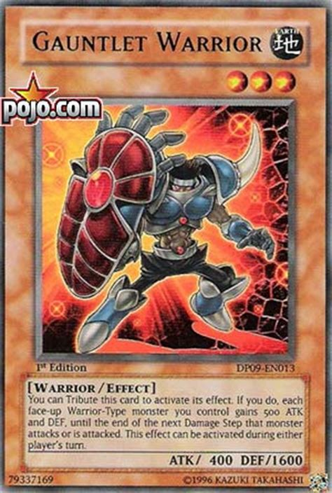 Types Of Warrior Decks Yugioh by Pojo S Yu Gi Oh Site Strategies Tips Decks And News
