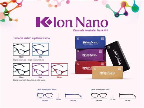 kacamata kesehatan  ion nano   link indonesia