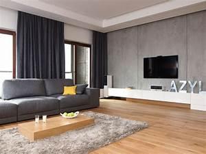 Vorhänge Modern Wohnzimmer : modern wohnen 105 einrichtungsideen f r ihr wohnzimmer ~ Markanthonyermac.com Haus und Dekorationen