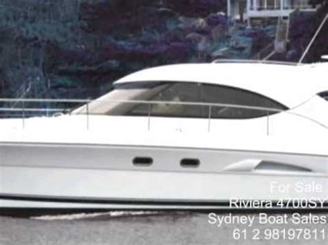 Boat Shop Nsw by For Sale By Sydney Boats Riviera 4700 Sports Yacht How