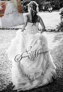 Robe De Mariée Originale : robe de mariee princesse originale bustier en coeur et ~ Nature-et-papiers.com Idées de Décoration