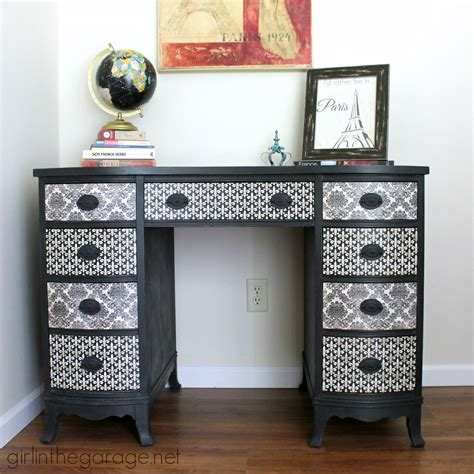 themed furniture french decoupage desk themed furniture makeover day girl in the garage 174