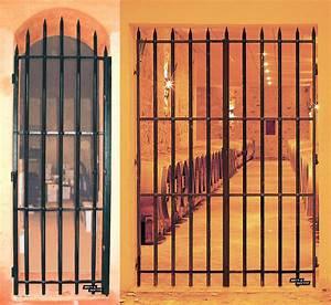 Barreau Securite Fenetre : grille de dfense porte d entre top porte en fer forg ~ Premium-room.com Idées de Décoration
